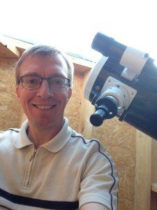 Premières observations Lune AstroCube
