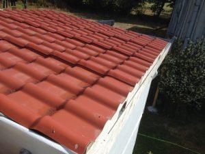 Pose plaques de toit
