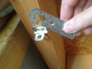 crochet sécurité de toit