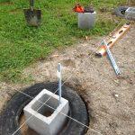 alignement du pneu de fondation
