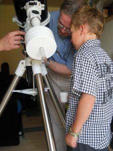 Réglage télescope latitude 50°