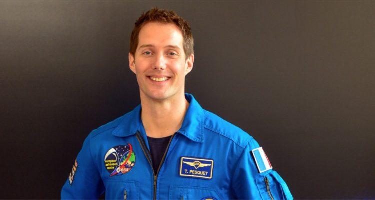 Thomas Pesquet en 2016 pour l'ISS