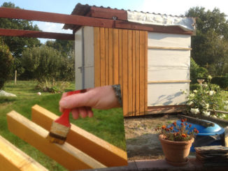 bardage bois et peinture suédoise