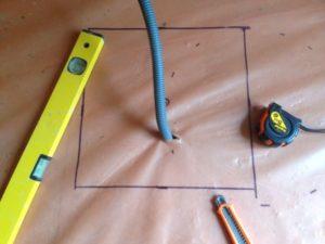 traçage plancher