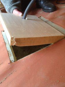 ouverture plancher
