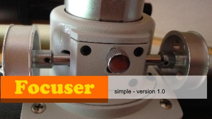 FOCUSER simple version 1