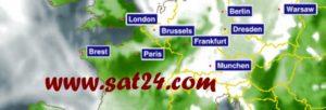 lien vers site web sat24.com