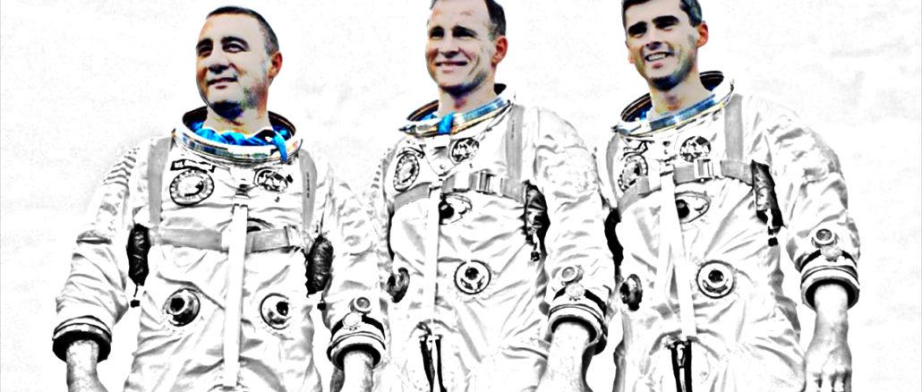 3 astronautes de la mission Apollo 1