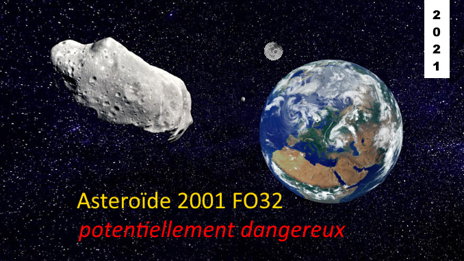 asteroide 2001 FO32