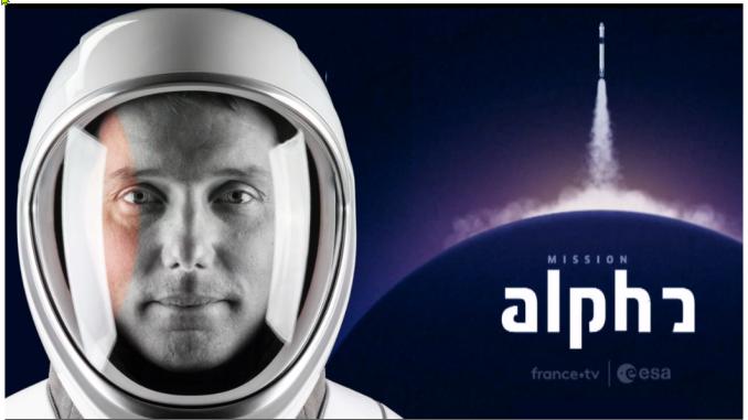 Mission Alpha Thomas Pesquet